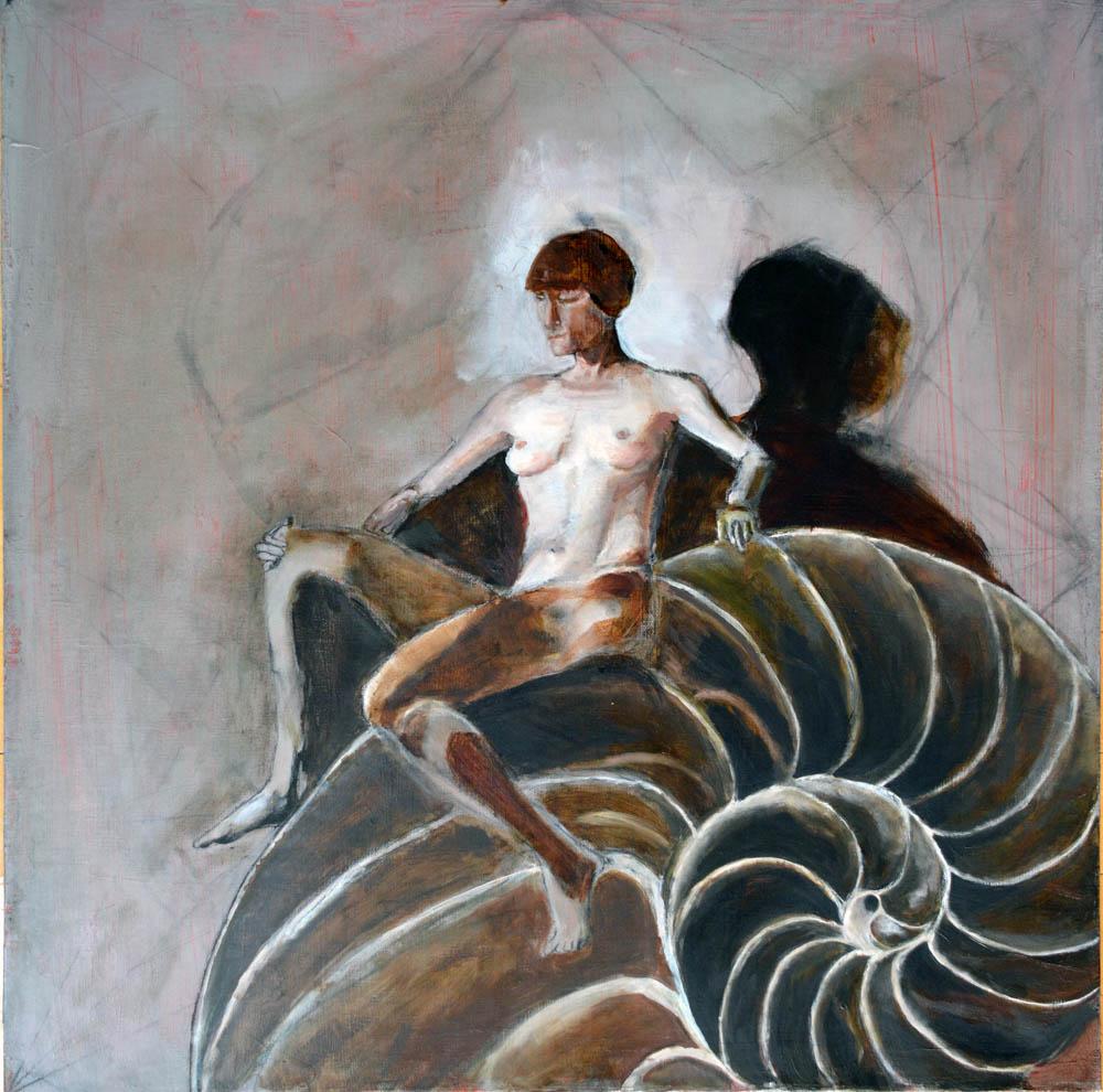 Figure Study, oil on canvas